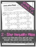 Inequality Maze