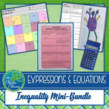 Solving Inequalities - Mini-Bundle