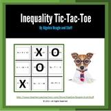 Inequality Tic Tac Toe Game