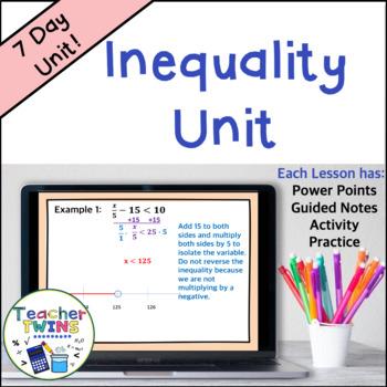 Inequality Unit Common Core 7 EE 4