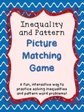 Inequality and Pattern Picture Matching Game - TEKS 4.5a