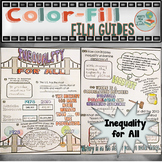 Inequality for All Colorfill Film Guide Doodle Notes