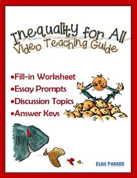 Inequality for All Worksheets, Essay Prompts, and Discussion Topics
