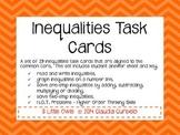 Inequalties Task Cards