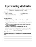 Inertia Experiment