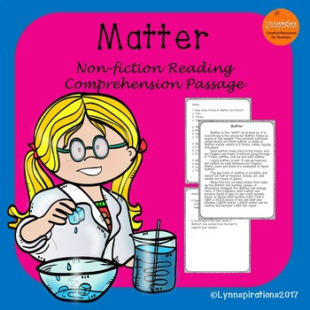 Physical Science Bundle A Reading Comprehension