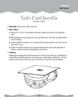 Inertia (Ten-Minute Activities)