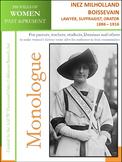 Women History - Inez Milholland Boissevain, Lawyer & Suffragist (1886 – 1916)