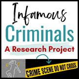 Infamous Criminals:  A High-Interest Nonfiction Research Project