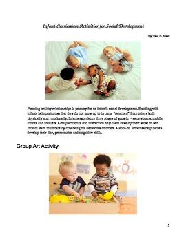 Infant Curriculum Activities for Social Development