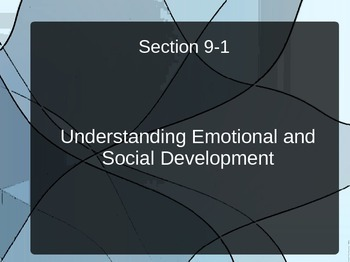 Infant Emotional and Social Development PPT for Child Development Infancy Unit