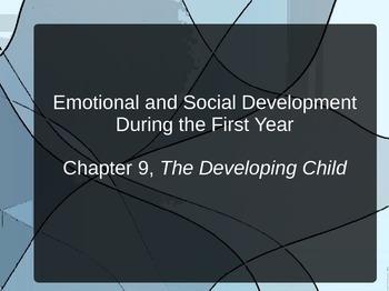 Infant Emotional and Social Development PPT for Child Development Infancy Unit