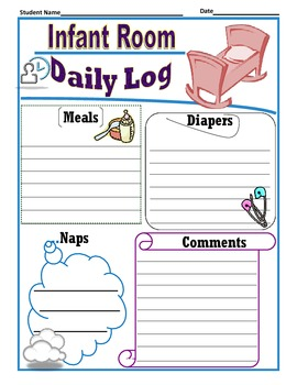 Infant Room Daily Log