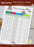 FREE Infant Routine Tracker (Sleeping, Feeding, Diaper, an