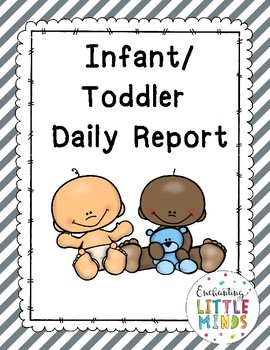 Infant & Toddler Daily Report