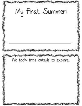 Infant Toddler Summer Book