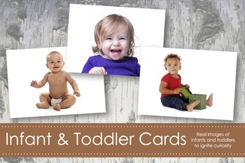 Infant and Toddler Cards- Montessori
