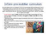 Infant pretoddler curriculum