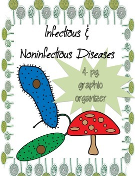 Graphic Organizer: Infectious and Noninfectious Diseases