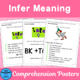 Infer Meaning: Posters for Comprehension Toolkit Book 4