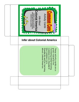 Infer about Colonial America