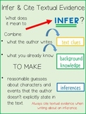Infer and Cite Evidence from the Text