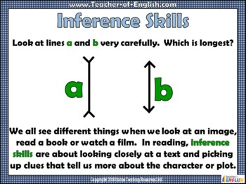Infer and Deduce 2 (PowerPoint and worksheets)