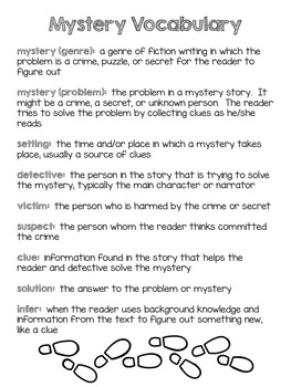 Infer with Mysteries Unit
