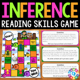 Making Inferences Reading Passages Game {Inferencing Task Cards}