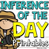 Inference of the Day: Inferencing No Prep Printables (Making Inferences)