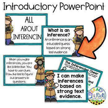 Inference of the Day: Making Inferences No Prep Printables and PowerPoint