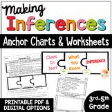 Making Inferences Worksheets - No Prep Printables