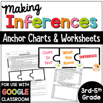 Making Inferences Passages - No Prep Printable Making Inferences Worksheets