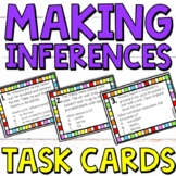 Inferencing Task Cards - Great Inference Practice (Making