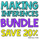 Making Inferences Bundle: Inferencing Printables, PowerPoints, and Task Cards