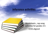Inference Activites and Rap CCSS Aligned
