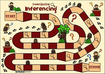 Inference: Activities, Games, Task Cards and Worksheets bundle pack