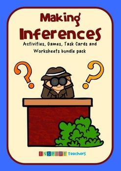 Inference: Activities, Games, Task Cards and Worksheets bu