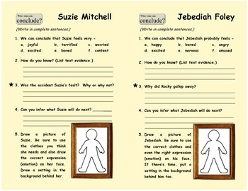 Inference Activity #2: Drawing Character Conclusions