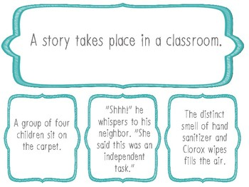 Inference Activity Pack: Task Cards, Posters, Matching Game 4th Grade RL.4.1