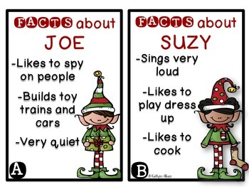 Inference Activity: The ELF Files - Christmas