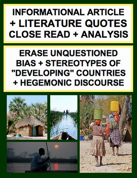 """Inference & Analysis: Point of View Bias on """"Developing"""" Countries"""