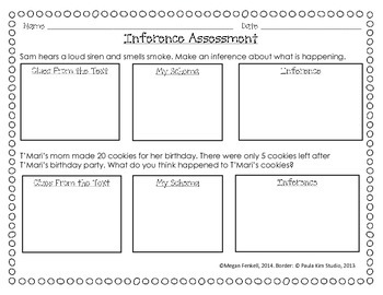 Inference Assessment