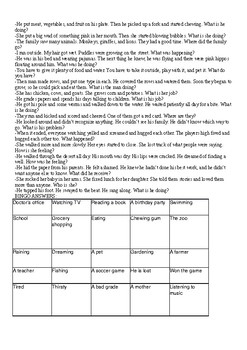 Inference Bingo and Charades Lesson Plan