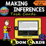 Inference Boom Cards for STAAR Reading Review