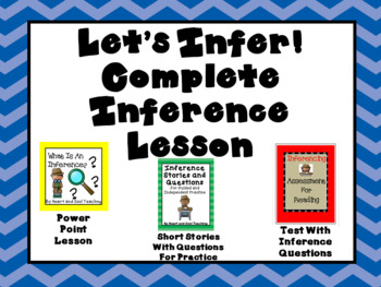Inference Bundle - Complete Ready To Use No Prep Lesson