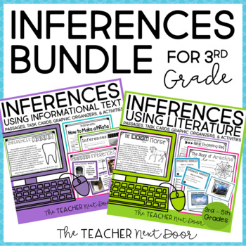 Inference Bundle 3rd Grade