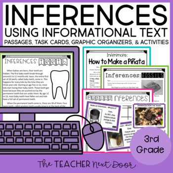 Inference Bundle 3rd Grade