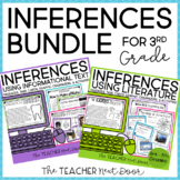 3rd Grade Inference Bundle: Fiction and Nonfiction