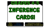 Inference Cards! - Grade 4 and 5